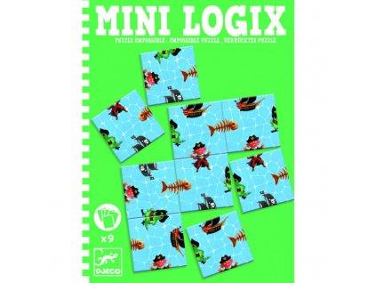 Djeco | Mini logix - Pirátské puzzle