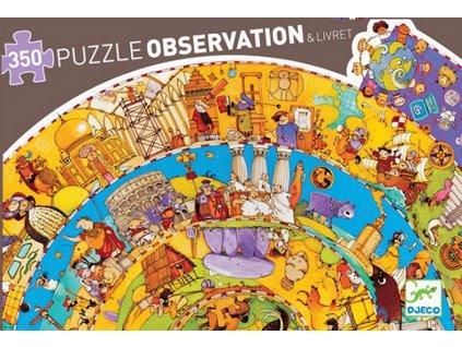 Djeco | Puzzle Historie 350 dílků