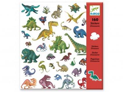 DJ08843 djeco samolepky dinosauři
