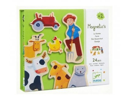 DJ03110 djeco magnety farma