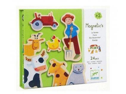 Djeco | Magnety Farma (24 ks)