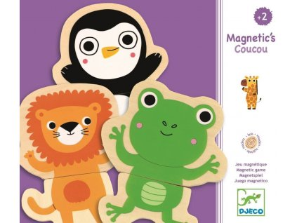 DJ03118 djeco magnety zvířátka