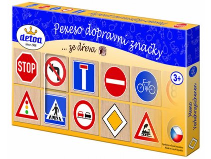 Detoa | Pexeso Dopravní značky