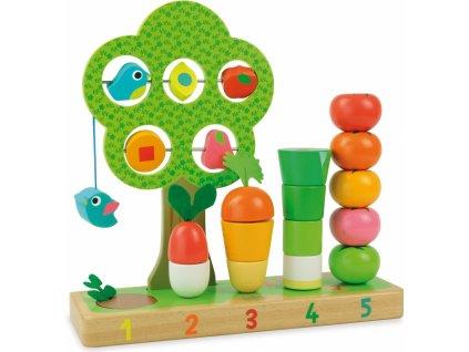 V2469 vilac multifunkcni drevena zahradka pro deti