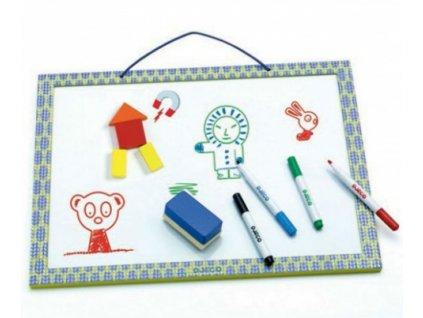 Djeco | Dřevěná magnetická tabule