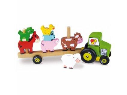 Vilac Traktor se zvířátky