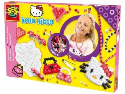 SES | Zažehlovací korálky Hello Kitty šperky