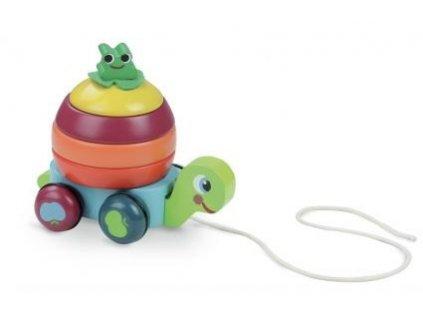 Vilac   Dřevěná tahací hračka Želva