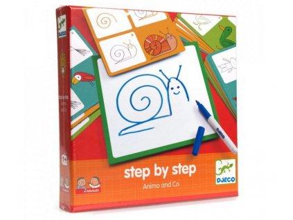 Djeco | Krok za krokem Zvířátka