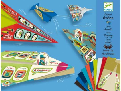Djeco | Origami skládačka Letadla