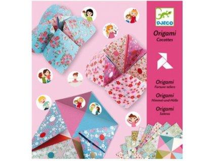 Djeco | Origami Nebe, peklo, ráj Dívčí