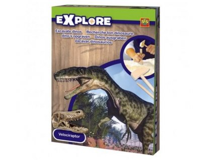 SES | Malý archeolog Lebka dinosaura