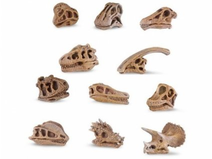 Safari Ltd. | Tuba - Lebky dinosaurů