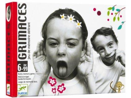 Djeco | Karetní hra Grimasy