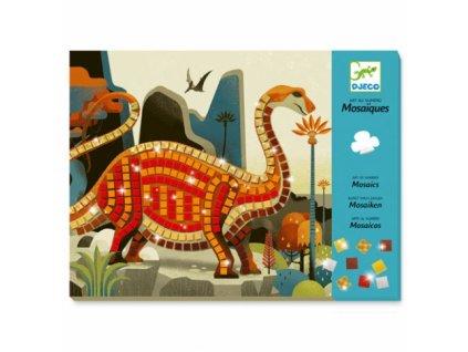 Djeco | Výtvarná sada mozaika - Dinosauři