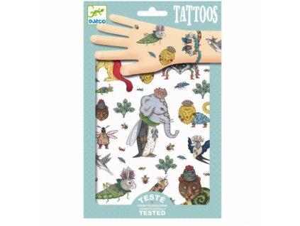 Djeco | Tetování Přeházená zvířátka
