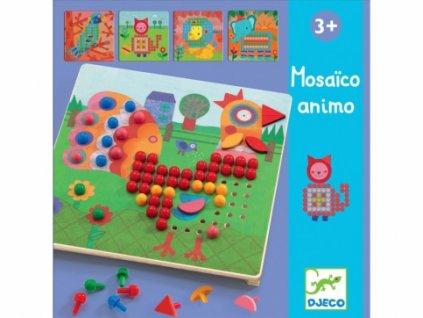 Djeco | Výtvarný set Mozaiková zvířátka