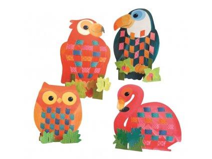 Egmont Toys | Papírové šití Ptáčci