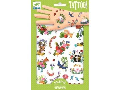 Djeco | Tetování Šťastné jaro