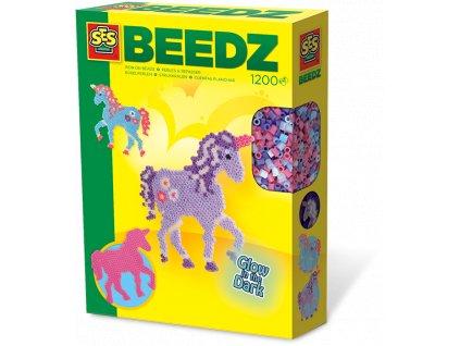 SES | Zažehlovací korálky - svítící kůň 1200 ks