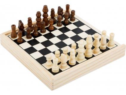 Legler | Dřevěné šachy cestovní