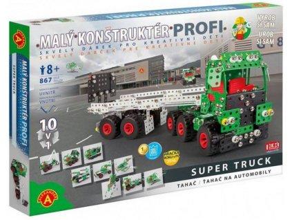 maly konstrukter profi super truck 10v1 autonaves