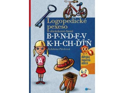B. Pávková | Logopedické pexeso a obrázkové čtení B-P-N-D-F-V-K-H-CH-ĎŤŇ