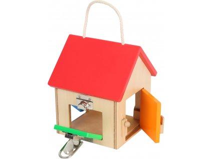 Legler   Dřevěný domeček se zámky