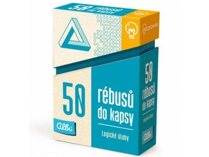 Albi | 50 rébusů do kapsy - Logické úlohy