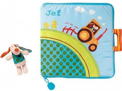 Textilní knížka Jef na farmě