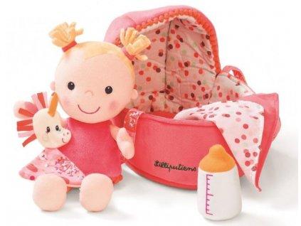 Látková panenka miminko pro děti