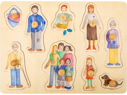 11501 legler vkladaci puzzle rodina