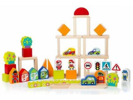 13913 cubika stavebnice ve meste