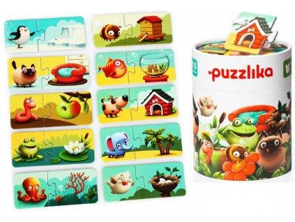 13074 puzzlika naucne puzzle muj domov tit