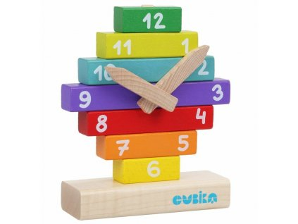14354 cubika drevene hodiny nasazovani
