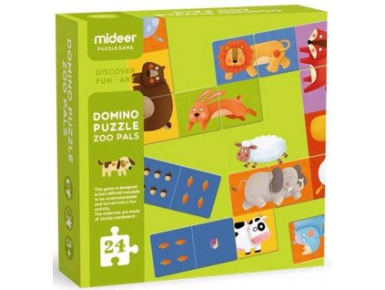 3044 domino kamaradi ze zoo