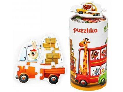 13784 puzzlika puzzle auta tit