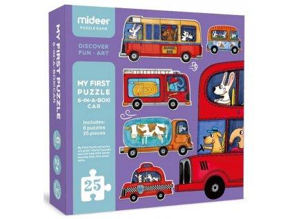 MD0077 puzzle pro deti doprava