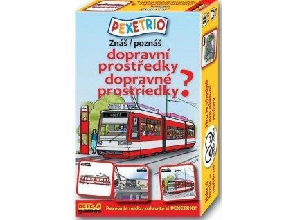 Betexa | PEXETRIO Znáš dopravní prostředky?