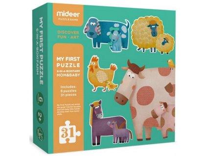 MD3012 prvni puzzle domaci zvirata
