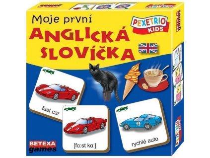 betexa pexetria moje prvni anglicka slova