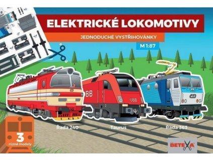 betexa vystrihovanky elektricke lokomotivy