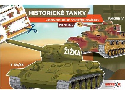 betexa vystrihovanky historicke tanky