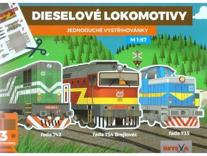 betexa vystrihovanky dieselove lokomotivy 1