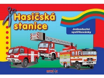 betexa vystrihovanky hasicska stanice