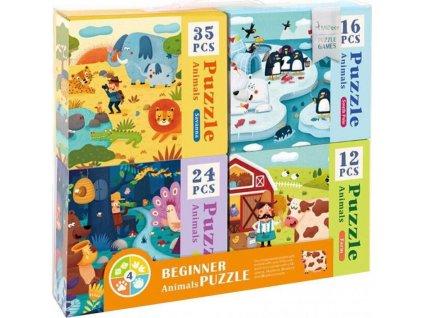 MD3025 mideer sada puzzle zvirata