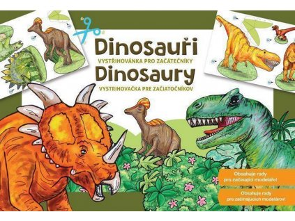 betexa 242 vystrihovanky dinosauri