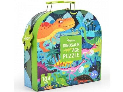 md3026 puzzle v kufriku dinosauri