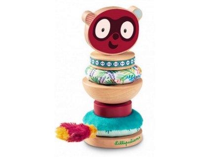 LILLI 83115 nasazovaci krouzky pro deti lemur