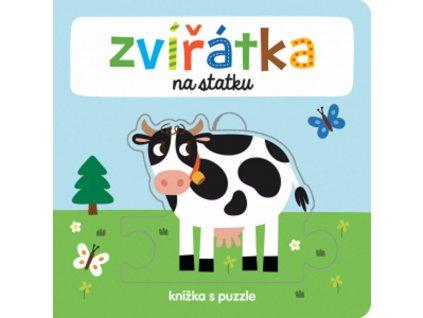9788025626917 knizka s puzzle zviratka na statku